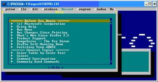 foxpro26 dos